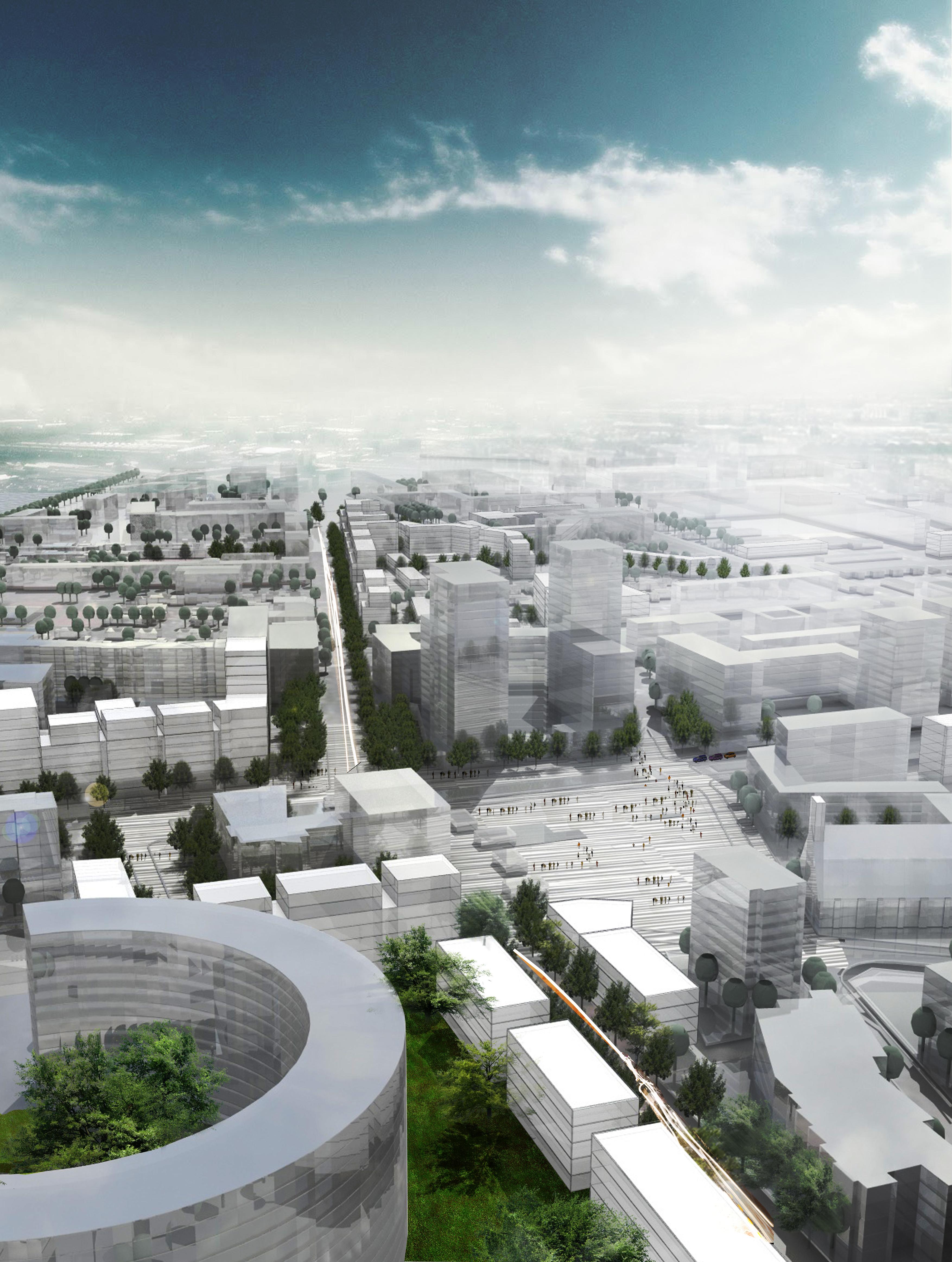 Etude urbaine Villeneuve La Garenne