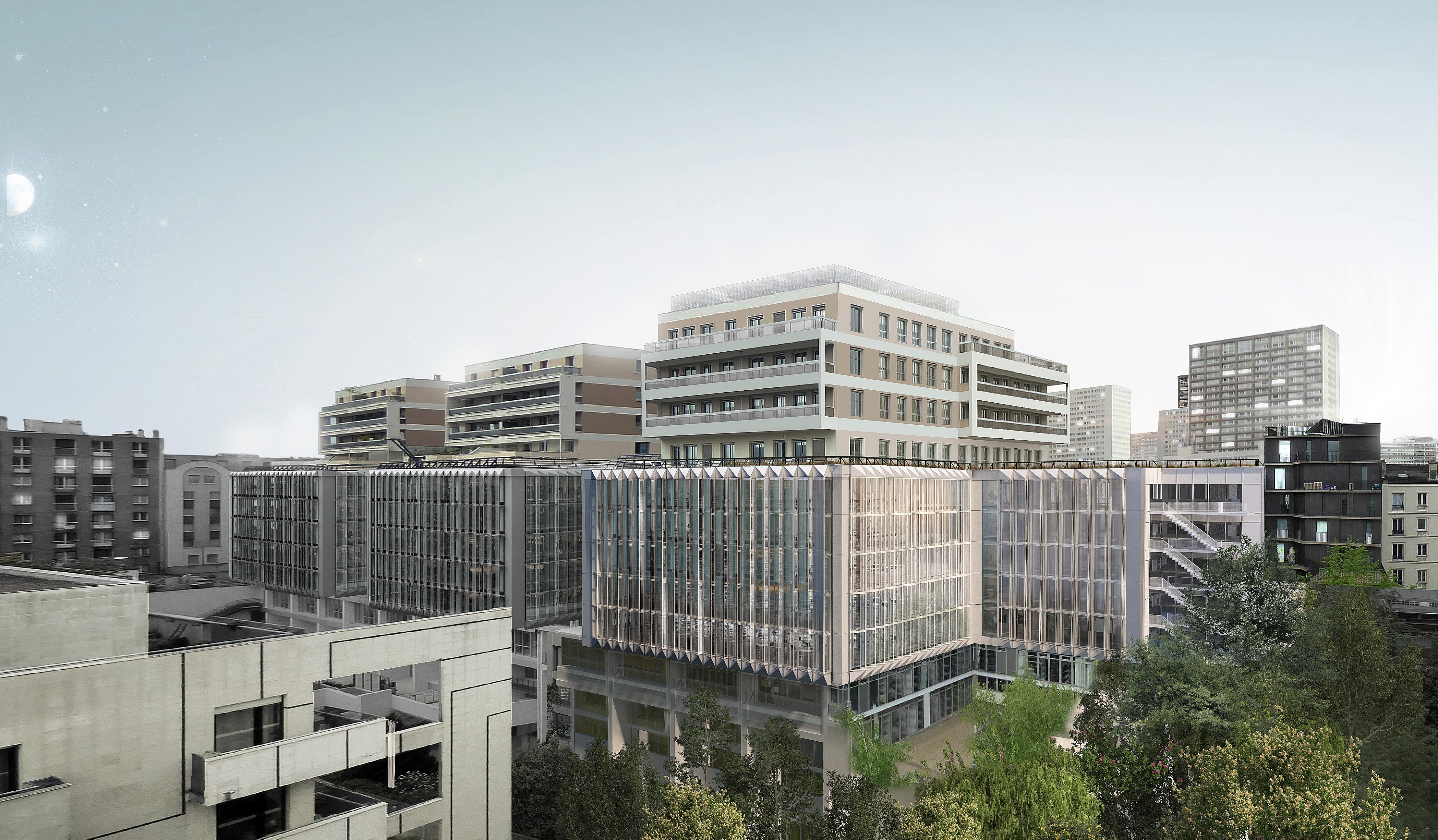 Réhabilitation d'un immeuble de bureaux - Paris