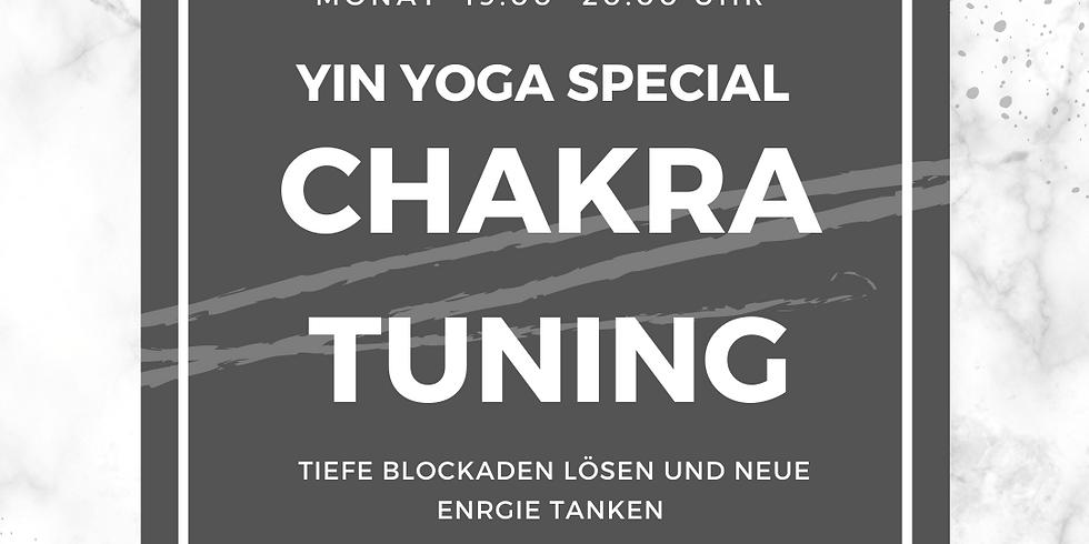 YIN YOGA SPECIAL- CHAKRA TUNING