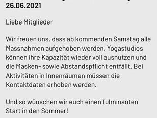 LIMITIERTE TEILNEHMERZAHL- VIEL PLATZ FÜR DICH- ANMELDUNG NOTWENIG