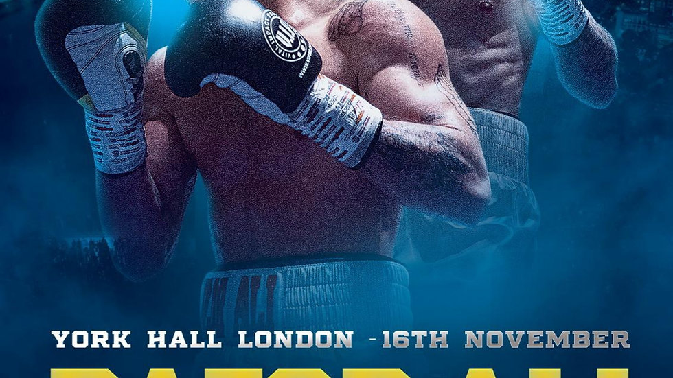 £100 Ringside Ticket for Ali's Second pro fight