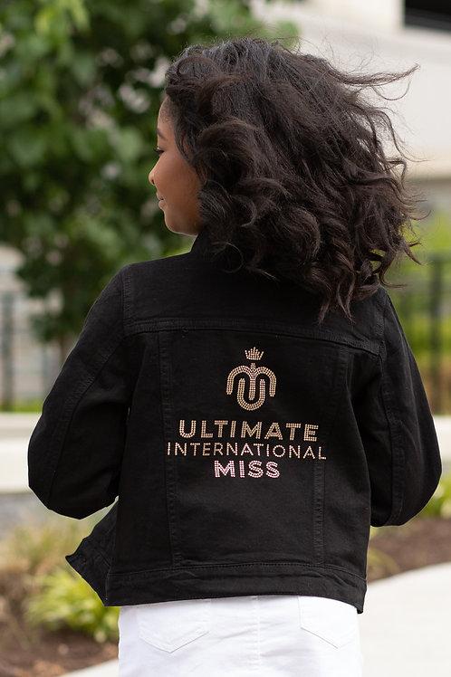 Youth UIM Signature Black Denim Jacket