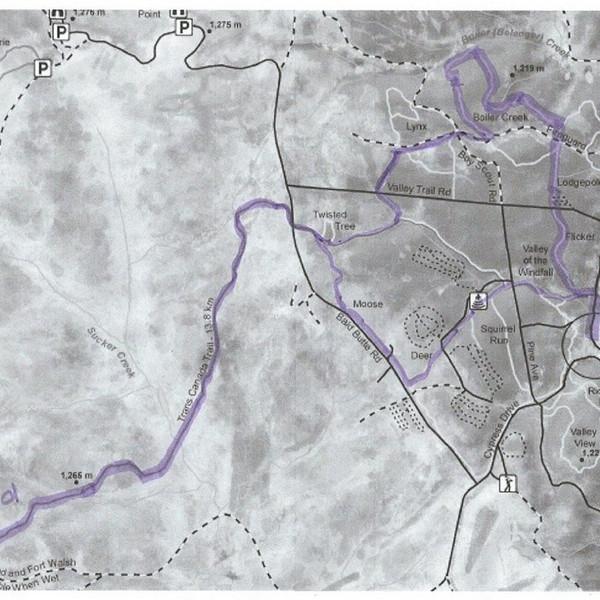 21KM Map.