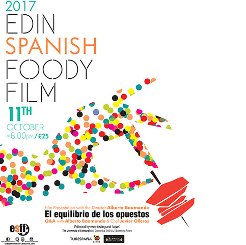 Edinburgh Spabish Foody Film 2017  -Graphic Design & Printing-