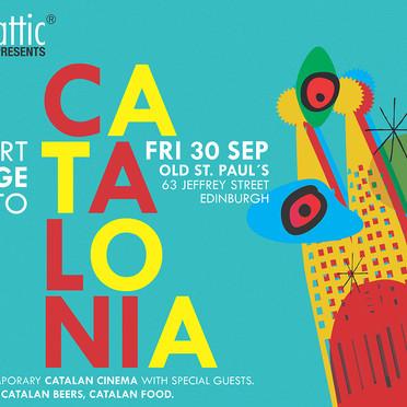 Catalonian film festival 2016  -Graphic Design-
