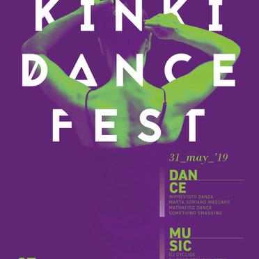 Kinki Dance 2019 Poster -Graphic Design-