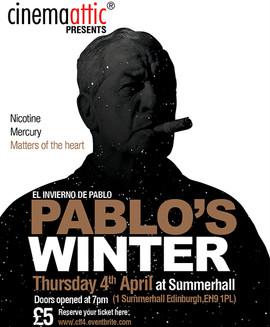 Pablo's Winter Edinburgh Screening Promotional Poster