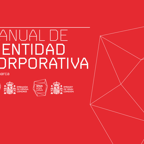 Corporate Identity for Cultural & Science Office at the Spanish Embassy in London