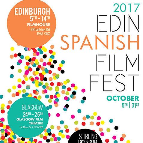 Edinburgh Spanish Film Festival 2017 Poster