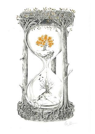'Heaven & Hell Hourglass'