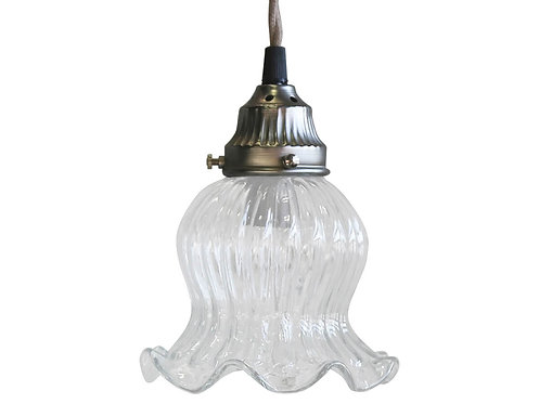 Chic Antique - Lampe Tulipan Glas - Håndlavet