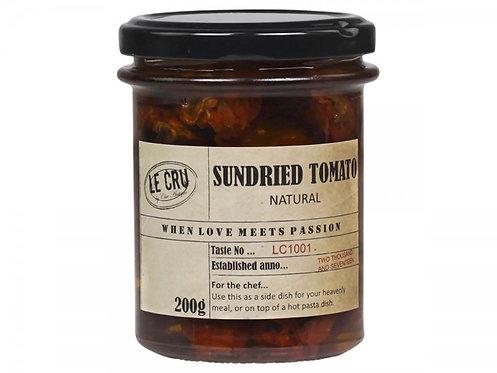 Le Cru - Soltørrede Tomater - Neutral 200g.