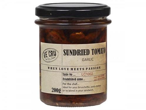 Le Cru - Soltørrede Tomater - Hvidløg 200g.