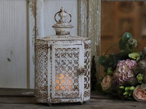 Chic Antique - Lanterne m. Perlekant