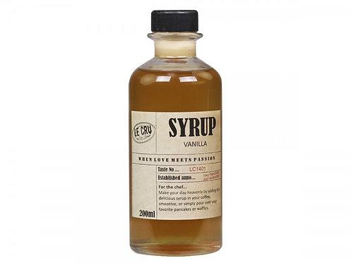 Le Cru - Sirup - Vanilje 200ml.