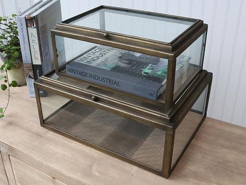 Chic Antique - Fransk Glas Display L: 41cm