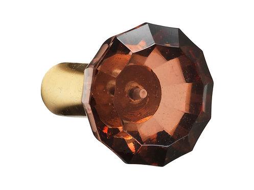 Cozy Living - Glas Knage - L - Rust - Diamond