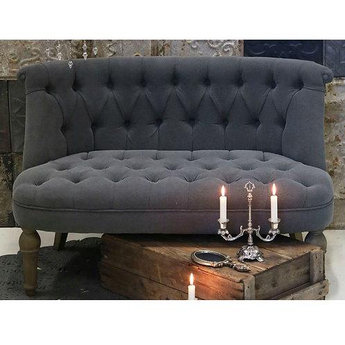 Chic Antique - Fransk Sofa i Hør