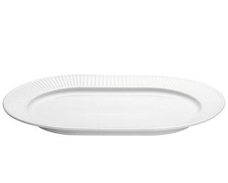 Pillivuyt - Plissé Ovalt Serveringsfad L36xB25cm