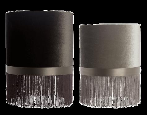 Au Maison - Velour Lampeskærmsæt (2 stk.) - Earth