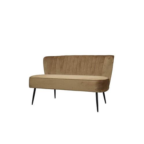 Chic Antique - Marat Velour Sofa - Karamel