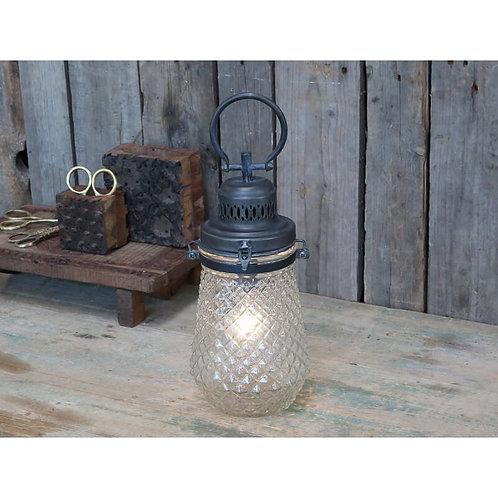 Chic Antique - Fransk stald-lanterne - Inkl. pære