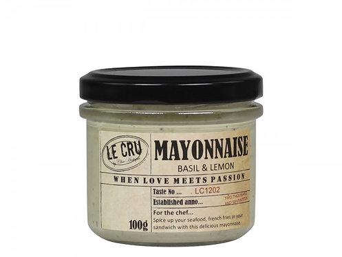 Le Cru - Mayonnaise - Basilikum/Citron 100g.