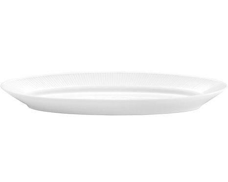 Pillivuyt - Plissé Aflangt Serveringsfad L45,5xB16,5cm