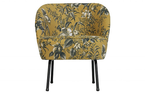 Be Pure Home - Vogue Loungestol - Poppy Yellow