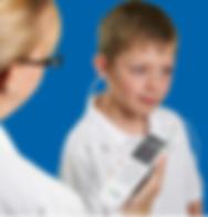 high technology child hearing screen testing