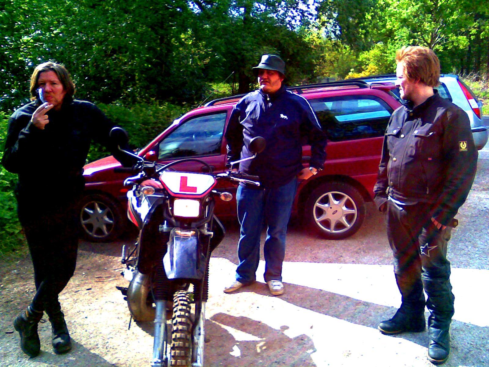 3 and a bike