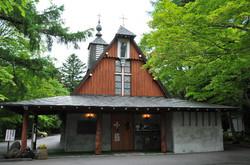 旧軽井沢銀座 聖パウロ教会