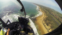 View from the helicopter