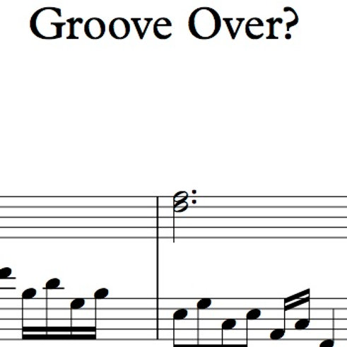 """Groove Over?"" for viola and cello"