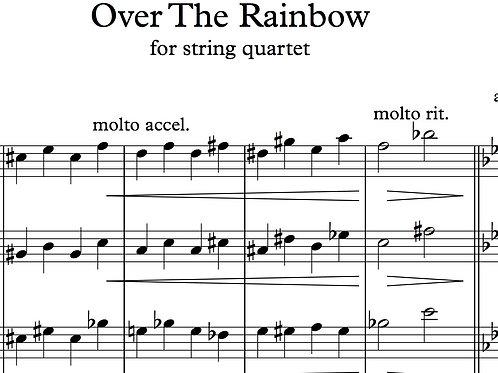Somewhere Over the Rainbow for String Quartet