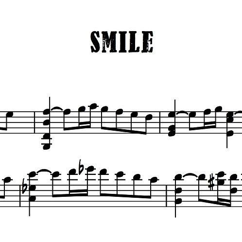 "Charlie Chaplin ""Smile"" for solo violin"