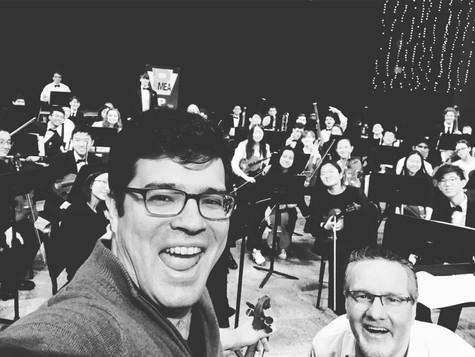Lalo Symphonie Espagnole with District 12 Orchestra under Joseph Caminiti