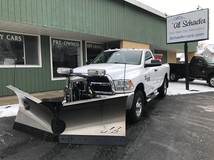 2017 RAM 3500 4x4 Tradesman (plow and sander included for additional price)