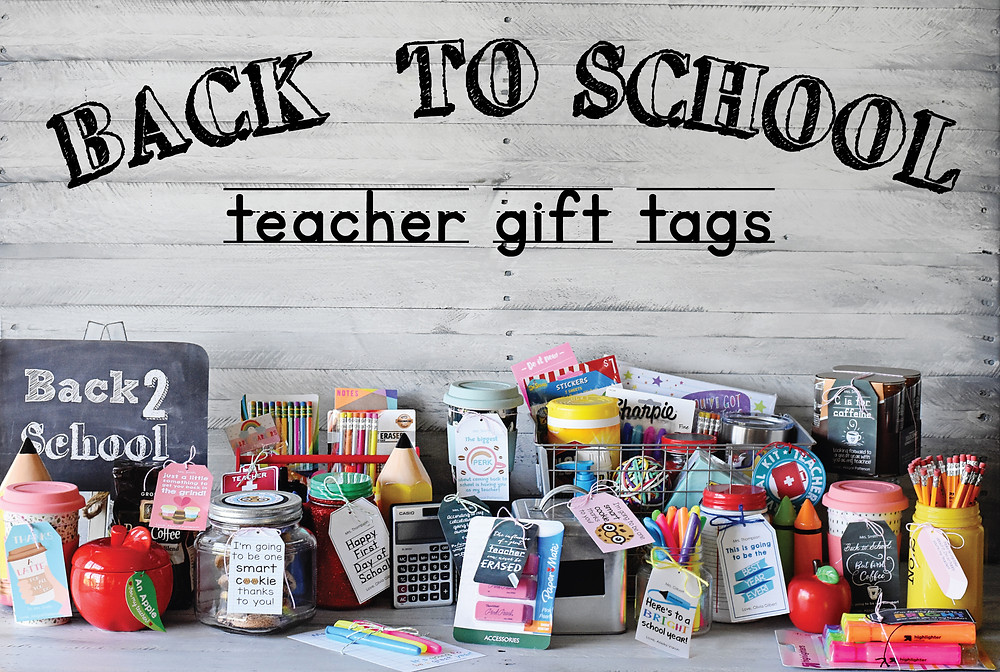 Printable 'BTS' Teacher Gift Tags from Entertaining with Emily
