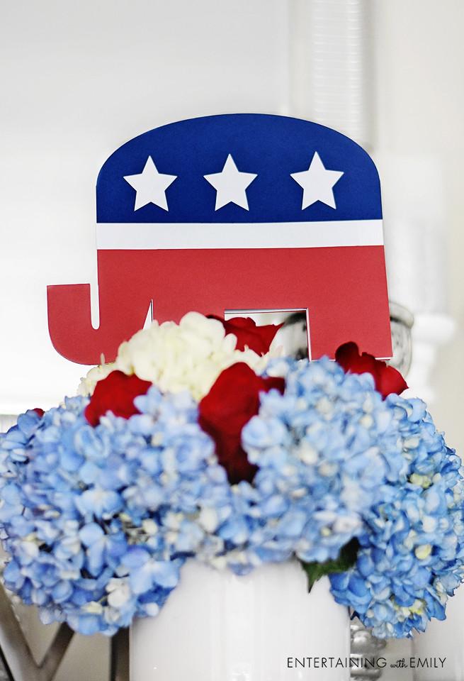 Republican Centerpiece