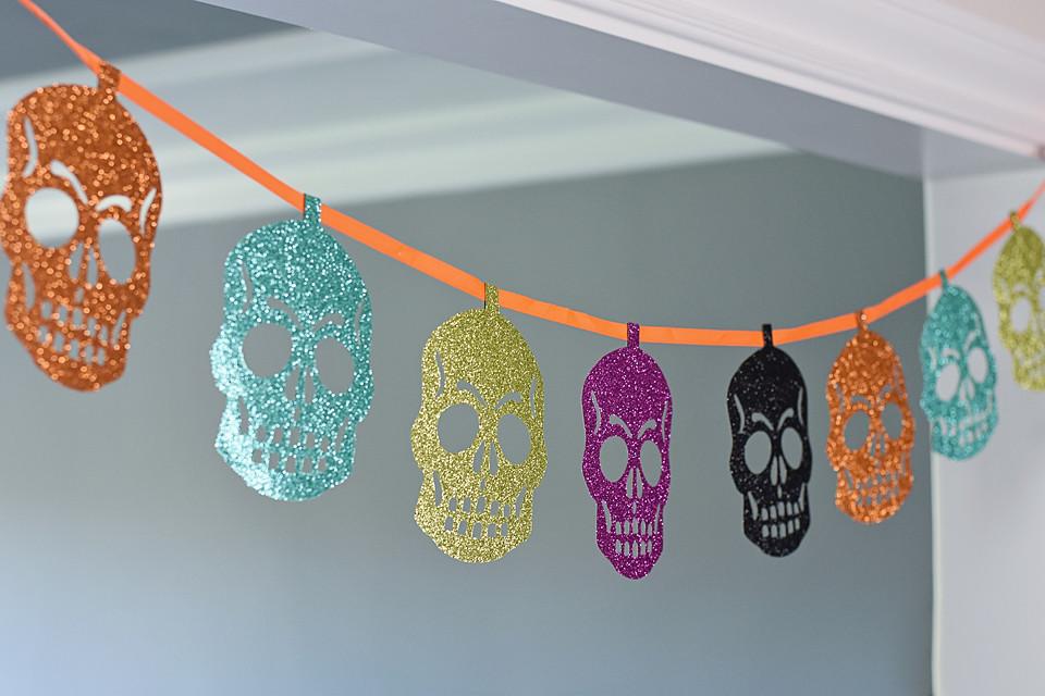 skeleton banner from Target
