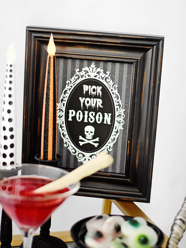 Pick Your Poison - Free Printable!