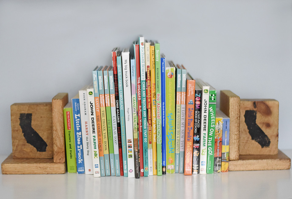 Rustic Cali Bookends