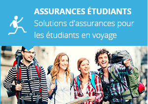 Assurances étudiants en voyage