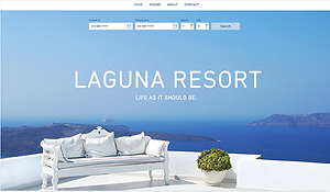 Site internet Hôtel