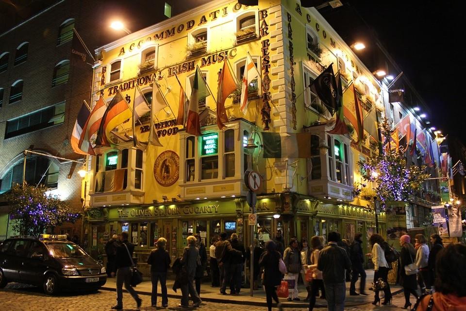 Oliver St. John Gogarty's Hostel à Dublin en Irlande