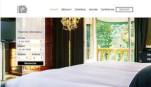 Site internet Hôtel II