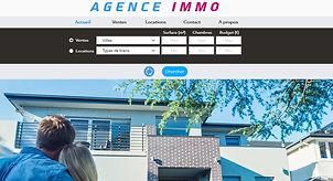 Agence Immo (site démo)