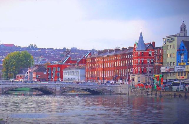 La ville de Cork en Irlande