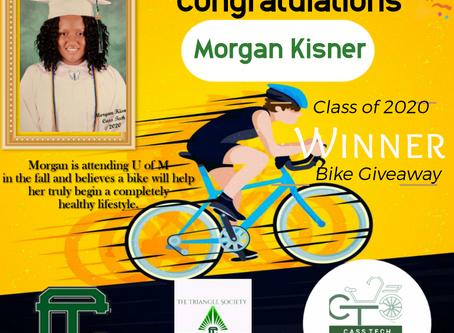 Congratulations Morgan!🎉